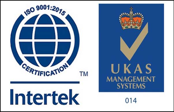 ISO 9001 2015 Intertek